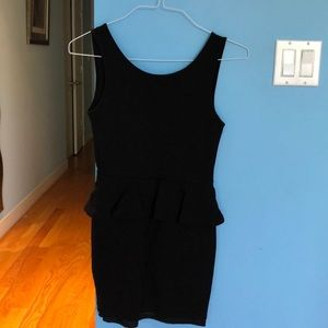 Zara Trafaluc Collection black dress size M